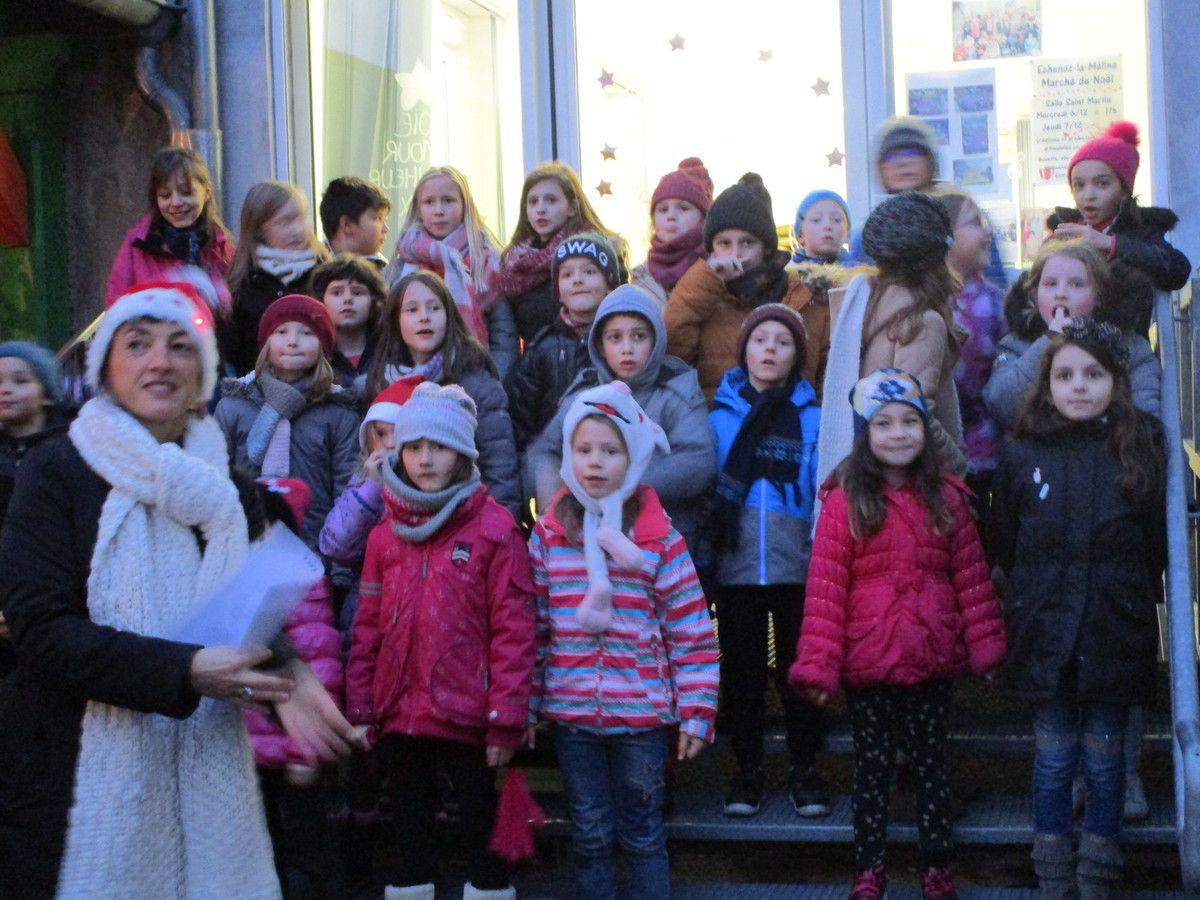 Succès du Marché de Noël des Loupiots
