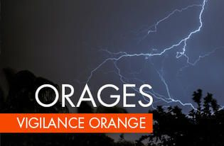 Vigilance Orange : Orages