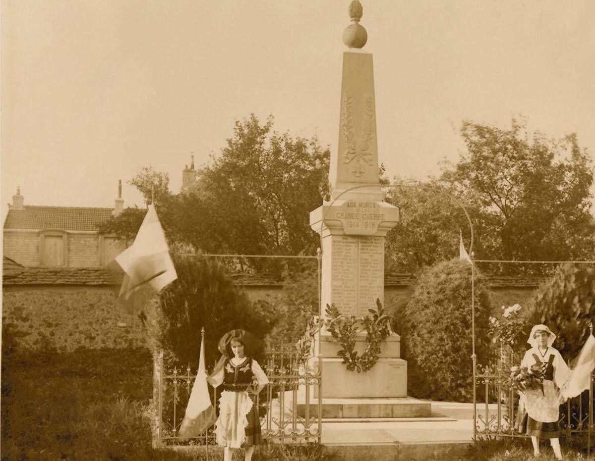 Histoire du monument aux morts