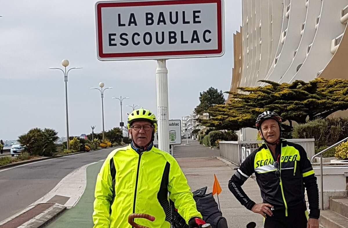 À vélo, sur les chemins de bords de Loire