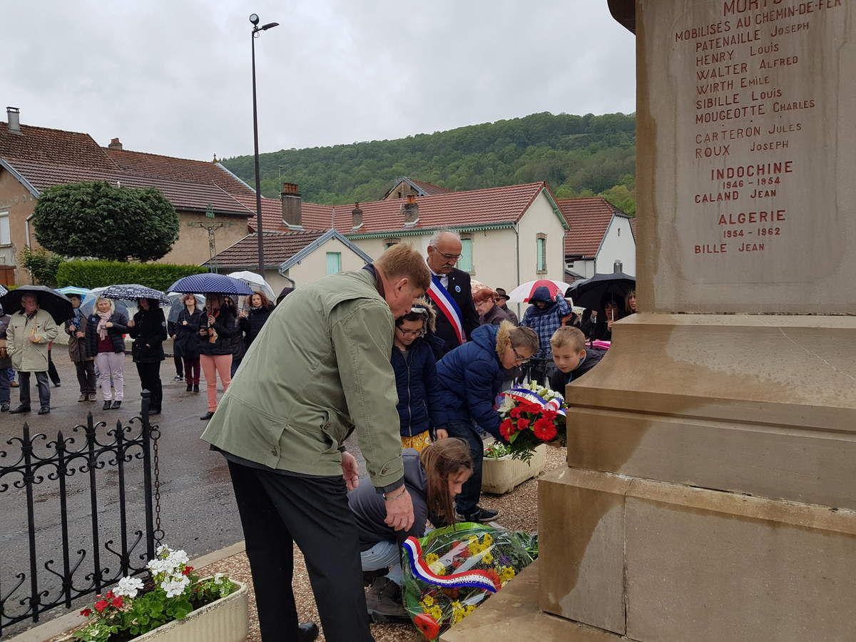 Commémoration du 8 mai 1945 en images