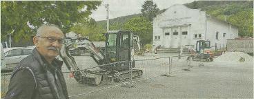 Les travaux de la Place d'Armes ont débutés ce lundi 30 septembre 2019