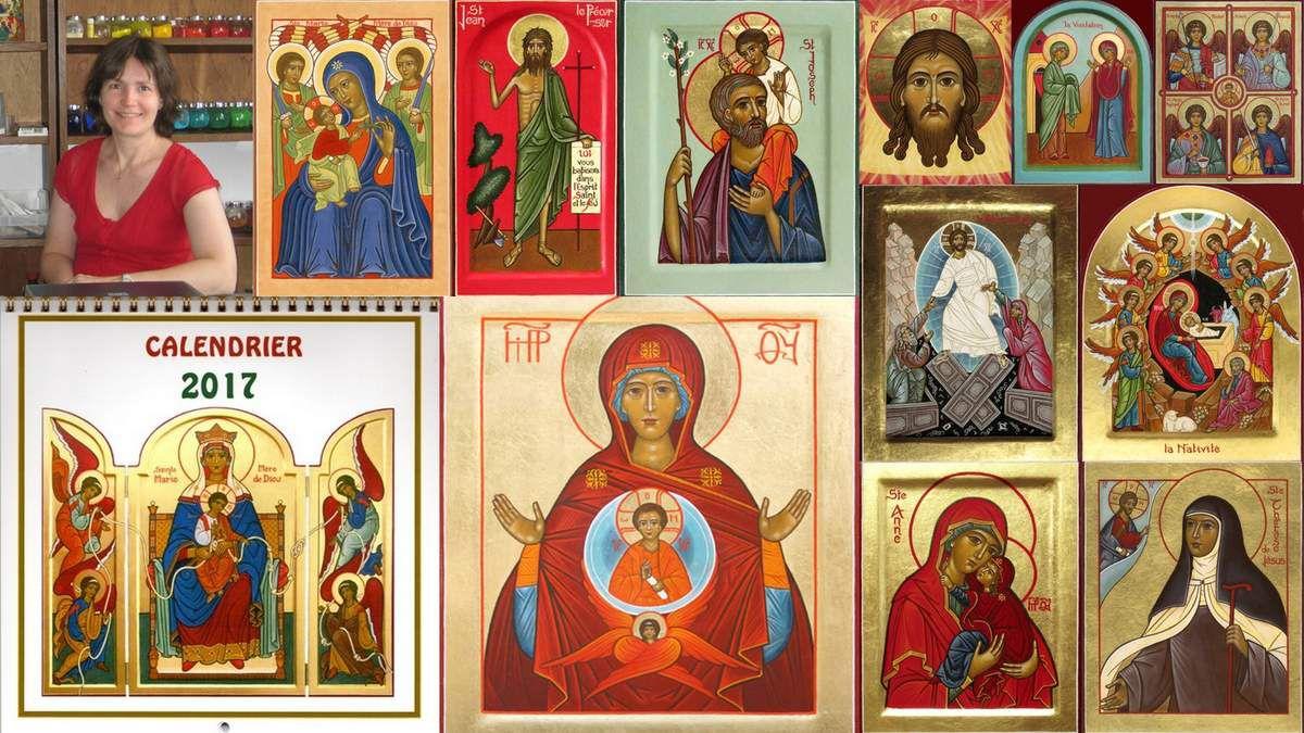 Un magnifique calendrier d'icônes pour vos cadeaux de Noël