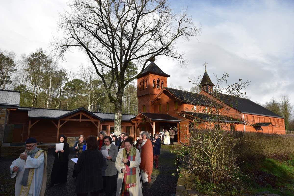 Visite au monastère Sainte-Présence