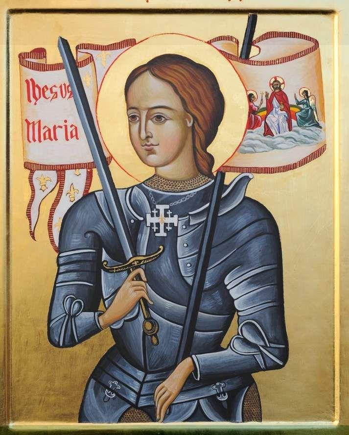Jeanne d'Arc par Benoit XVI