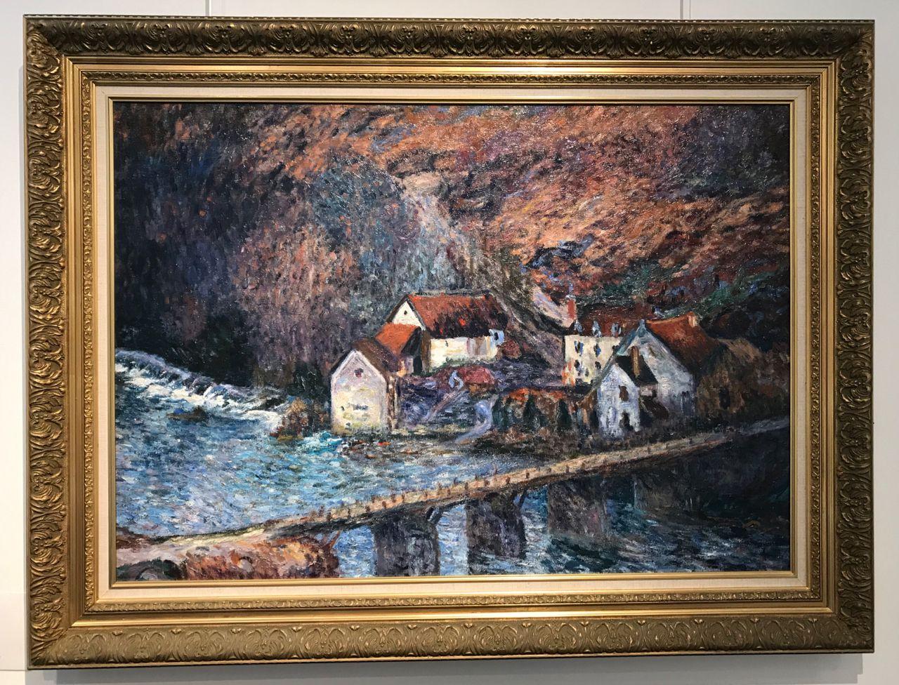 Il avait quand même un certain talent, ce Monet ...