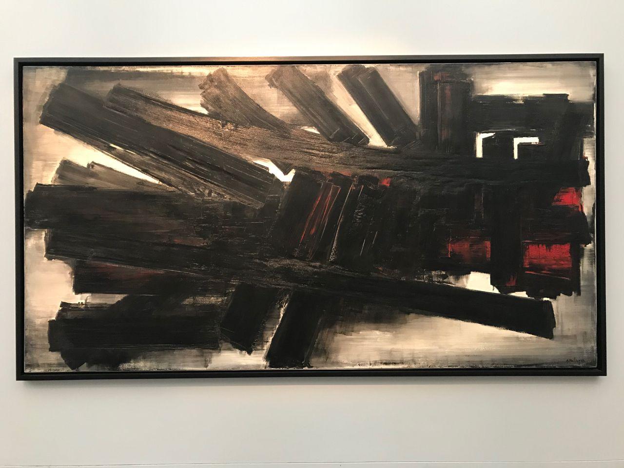 Le Musée Soulages à Rodez : Noir c'est noir, il n'y a plus d'espoir ...