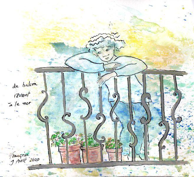 Chapitre 2621 : de son balcon ...