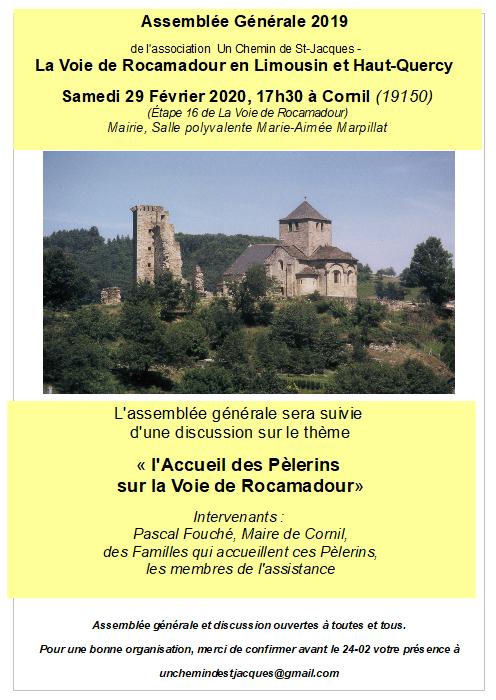 AG 2019, le 29 Février 2020 à Cornil