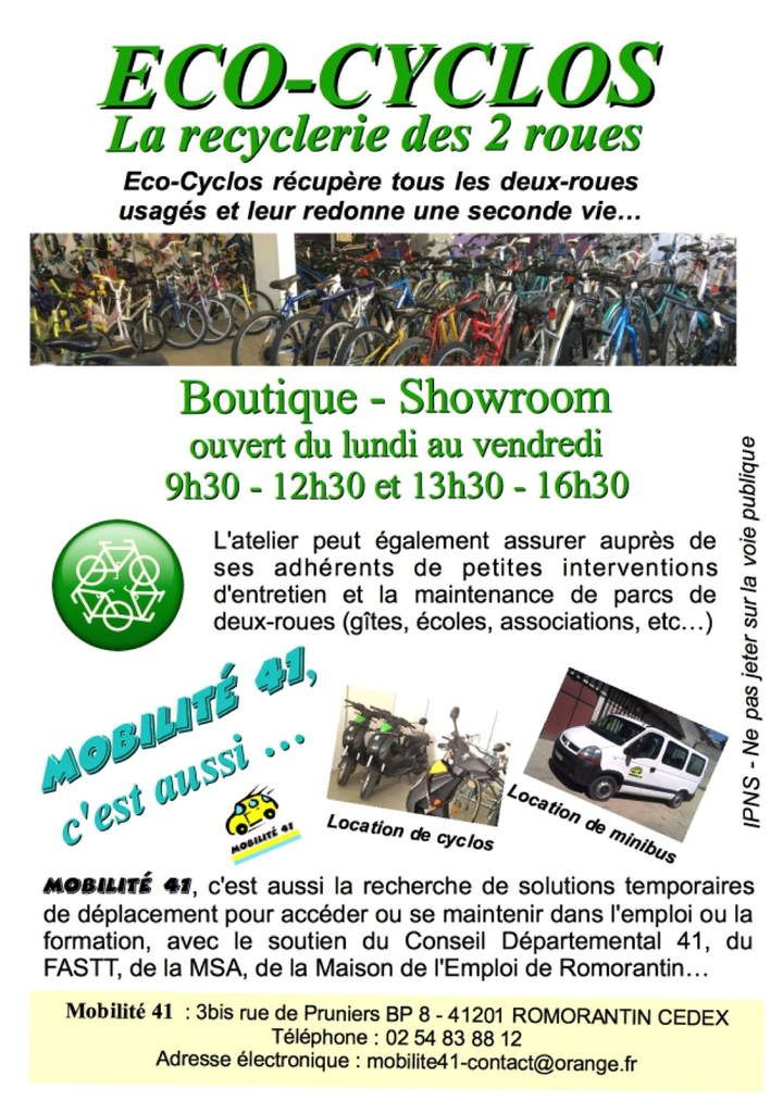 Flyer Eco-Cyclos Verso