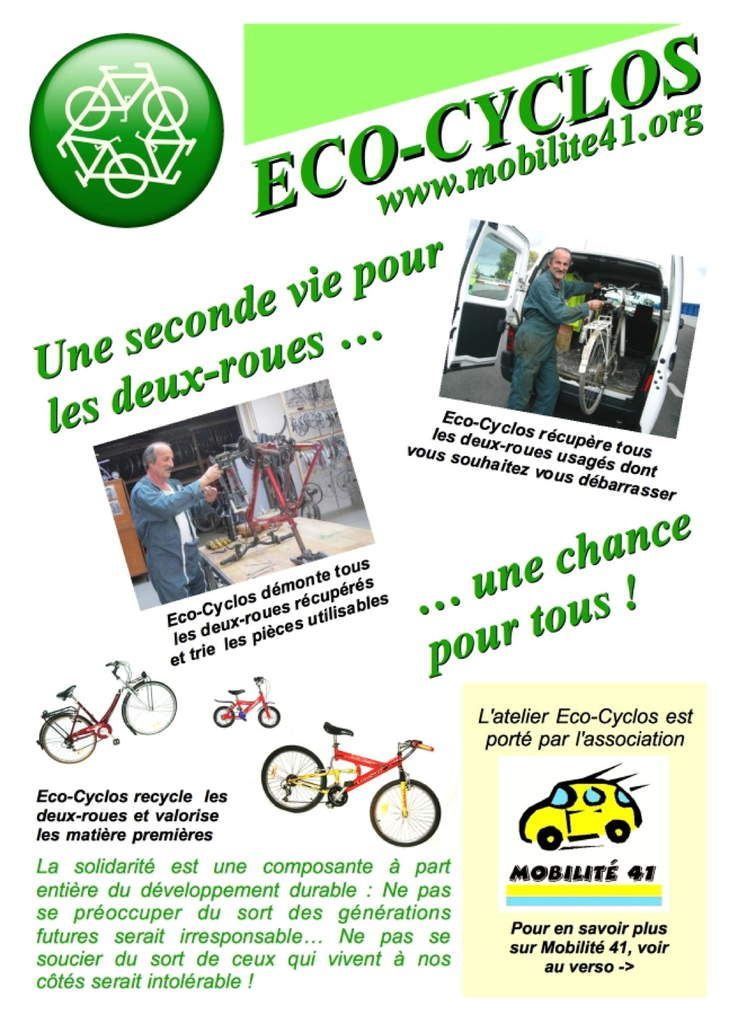 Flyer Eco-Cyclos Recto