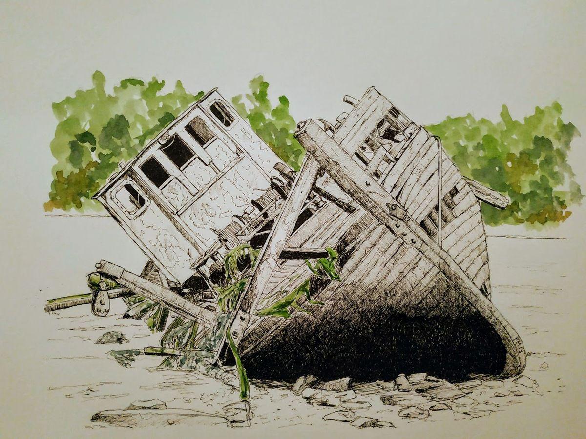 Oh mon bateau.....