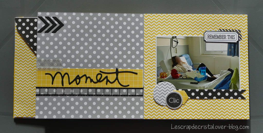 Mini album - Séjour à la clinique