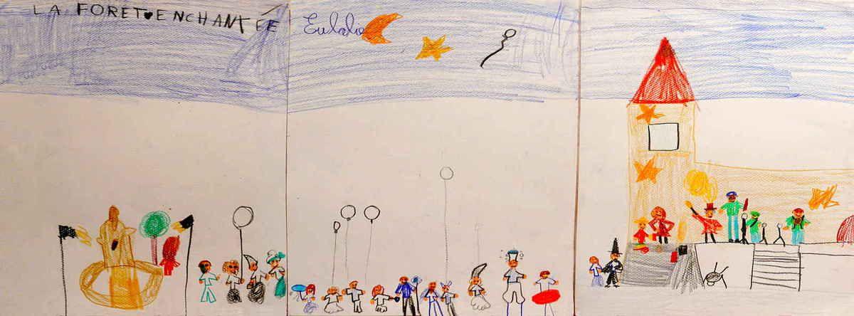 """Le spectacle """"Mattaféeries"""" vu par une enfant de la troupe :-)"""