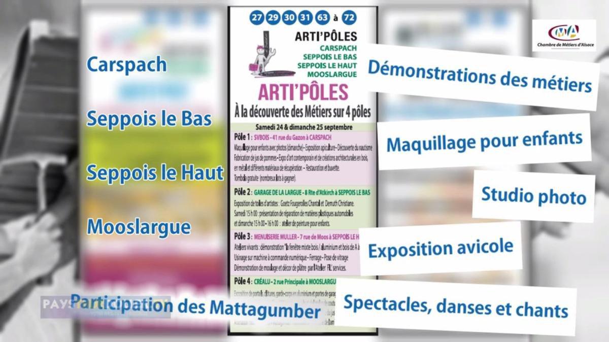 """""""La ronde des métiers"""" - 25 septembre - MOOSLARGUE"""