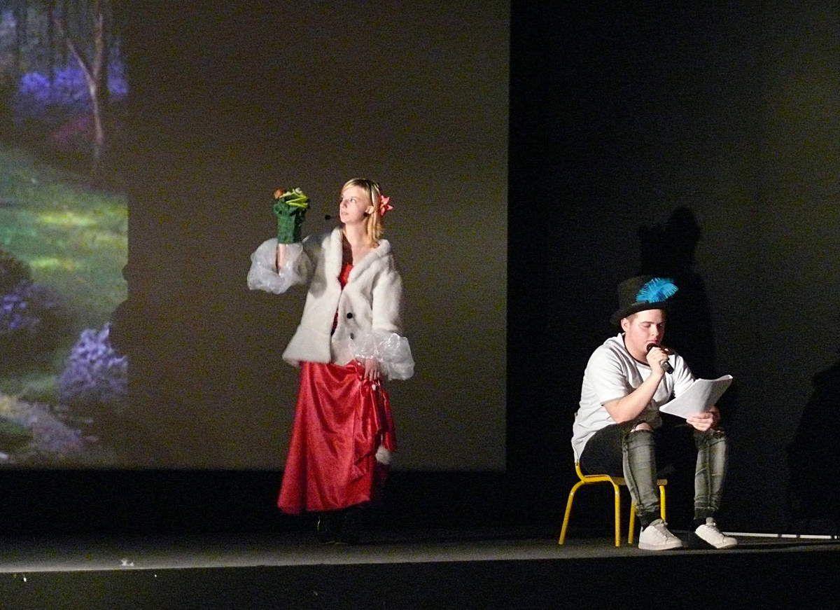Princesses Académie - Spectacle au cinéma d'Altkirch - di 16 mars 2017