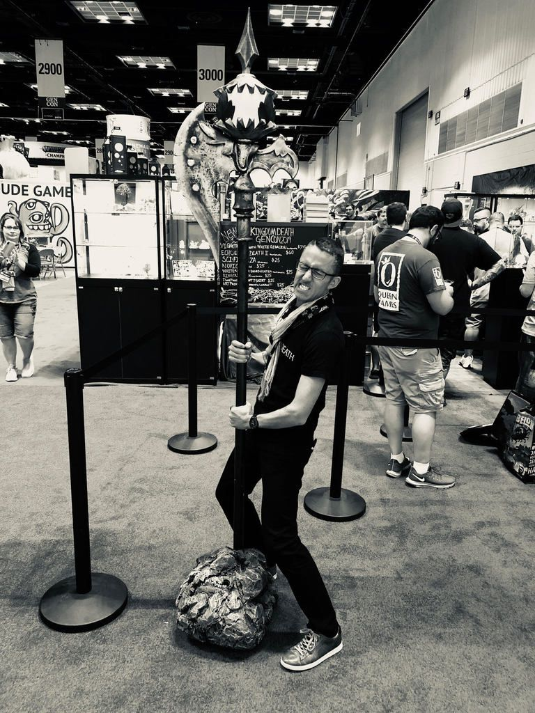 Back from Gencon 2019