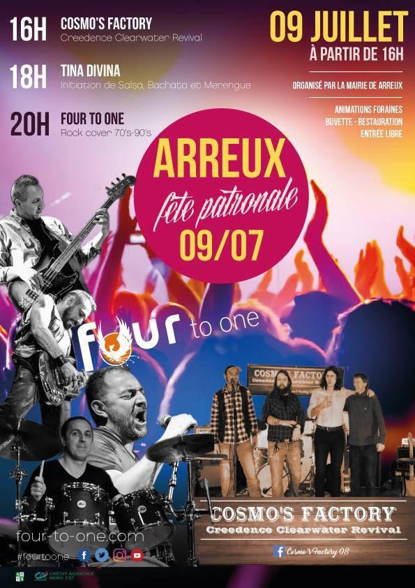 Arreux, Fête Patronale les 8, 9 et 10 Juillet 2017