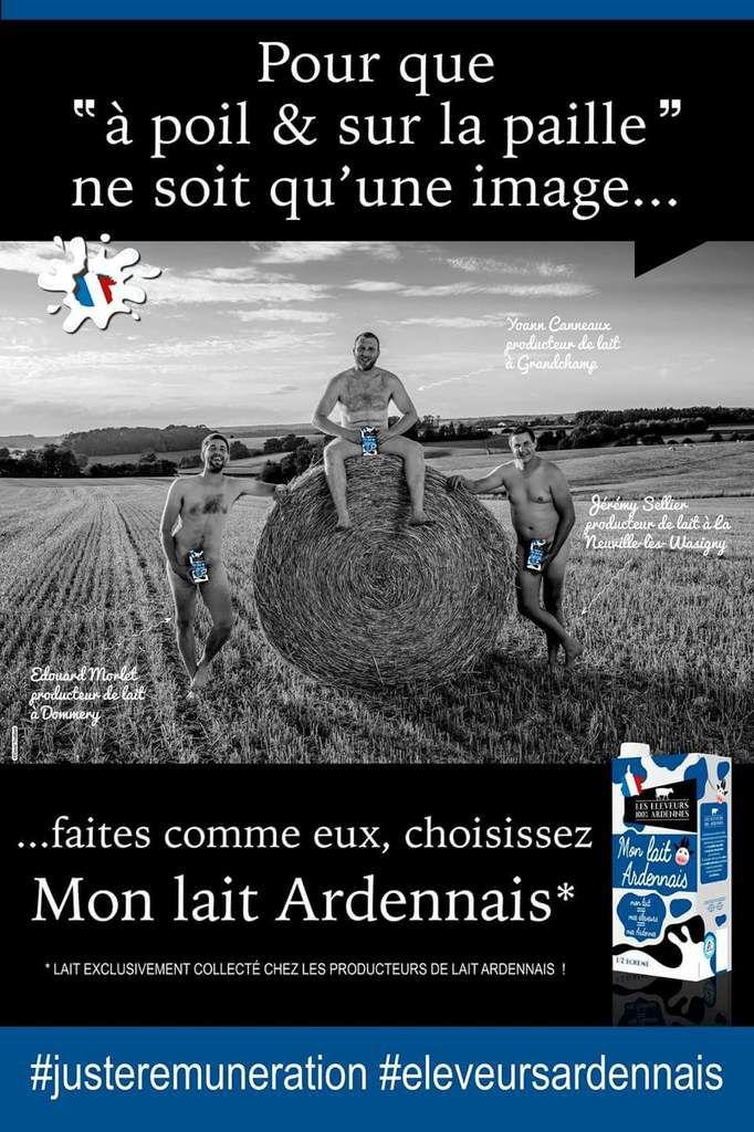 Du lait Ardennais dans vos commerces