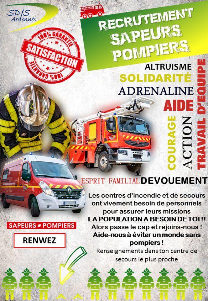 Je Suis Sapeur Pompier Volontaire Et TOI ???