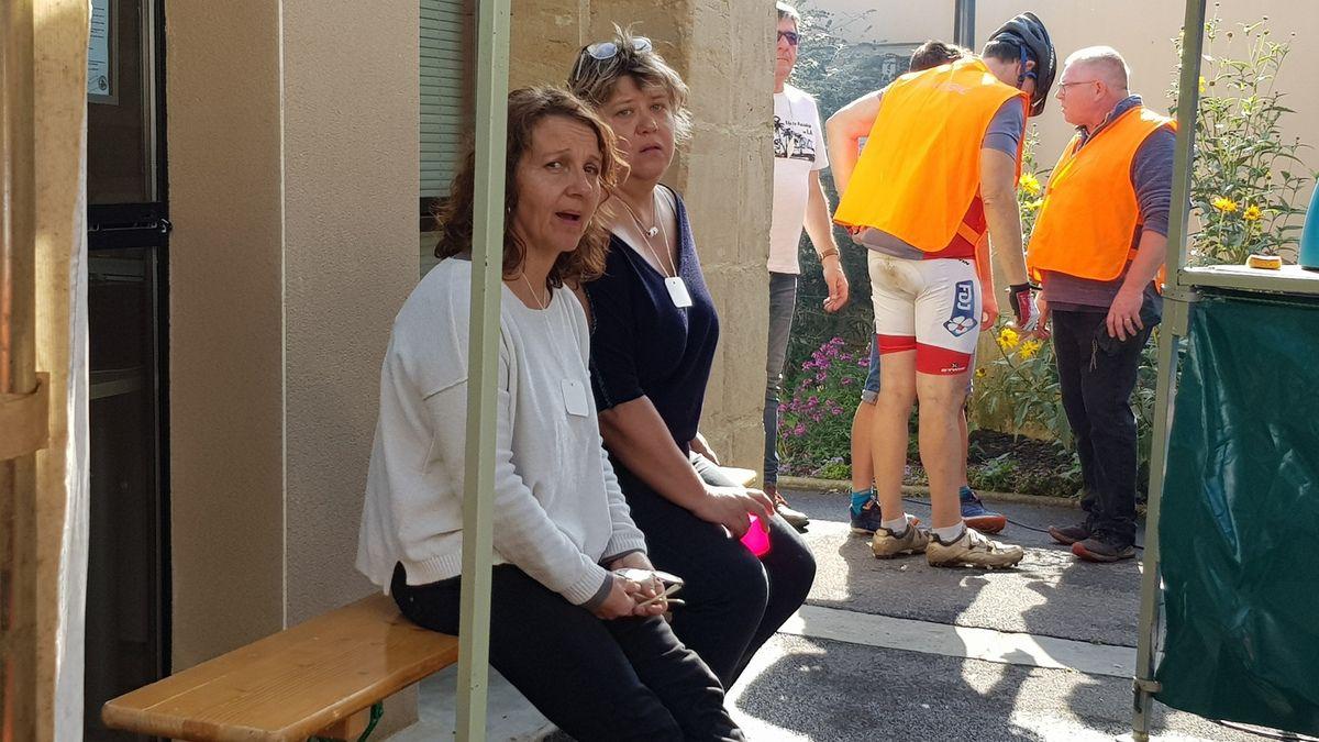 Quelques photos des bénévoles en action