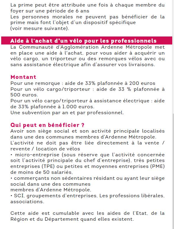 Arreux Adhère au Plan Vélo d'Ardenne-Métropole !!!