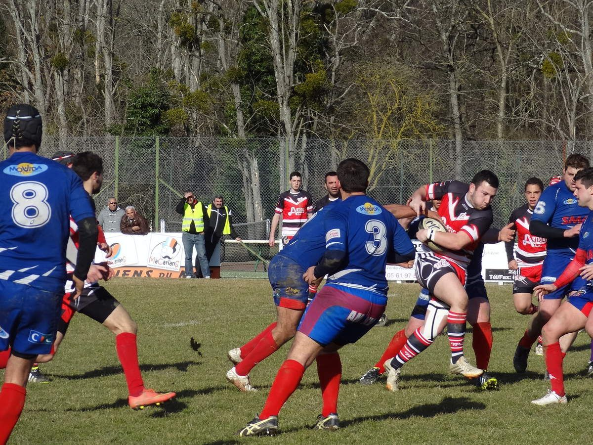 Rugby XV - Amateurs - Mazères-sur-Salat (31) - Play down