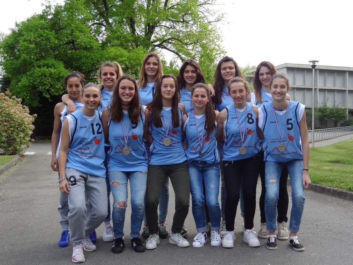 Salies du Salat - Basket: encore Bravo aux jeunes vice-championnes de France