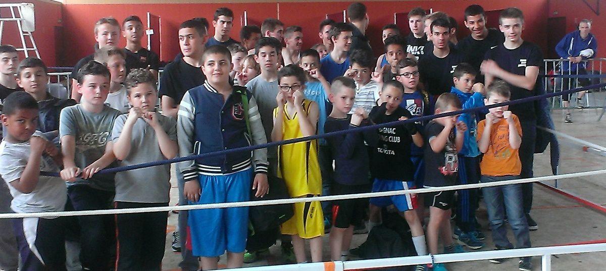 Mazères sur Salat (31) 4ème challenge de boxe de la ville de Mazères