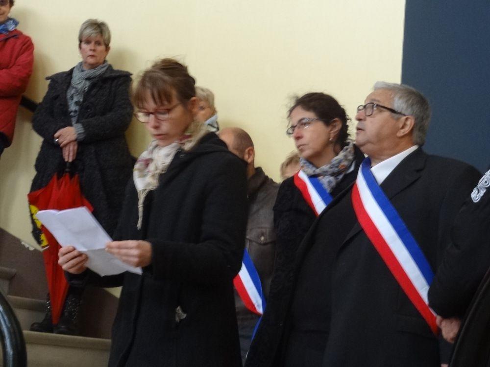 Mazères sur Salat (31) - Solidarité avec les victimes des attentats