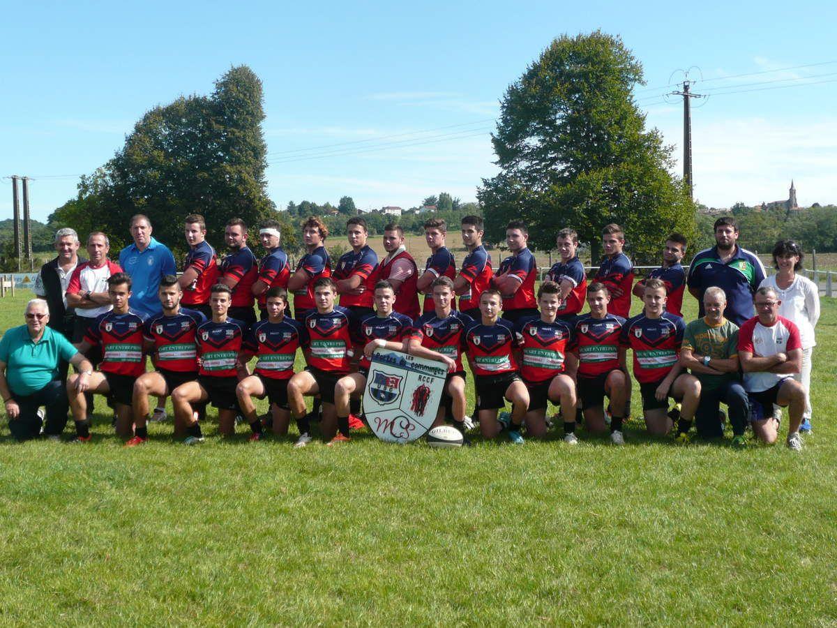 Mazères - Cassagne - Rugby à 7: deux équipes sur le podium