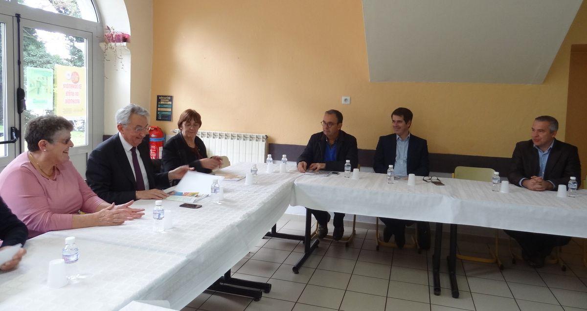 Mane 31 - La Maison Familiale et Rurale reçoit le Préfet de l'arrondissement de Saint-Gaudens