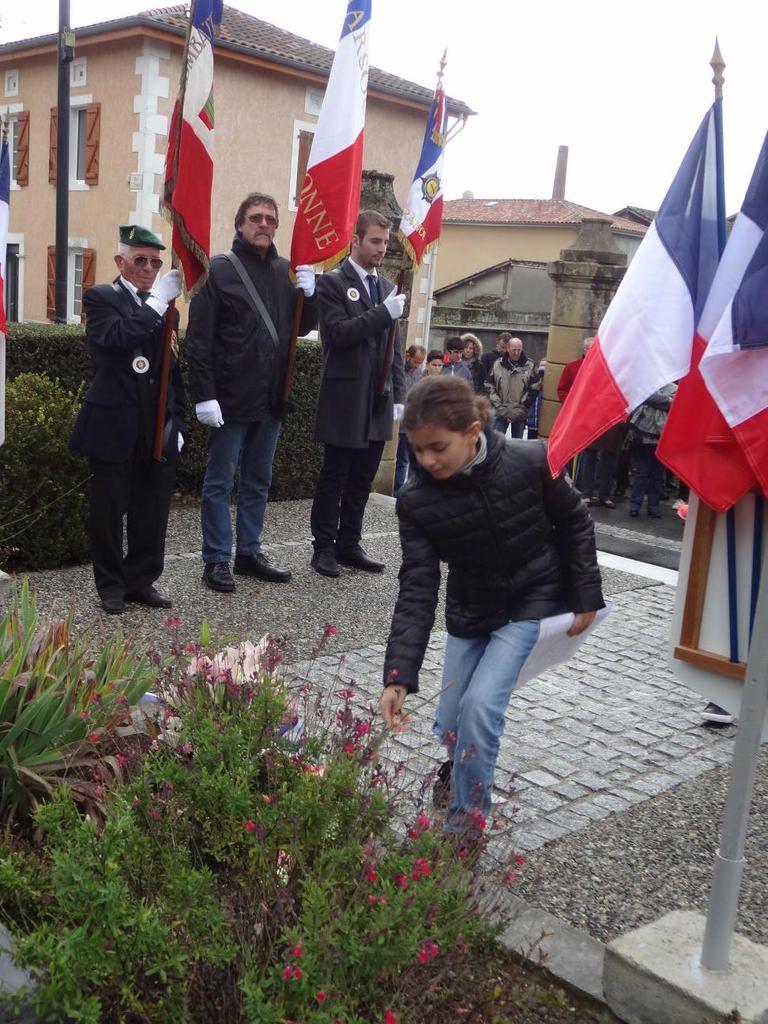 Mazères sur Salat - Commémoration du 11 novembre 2016
