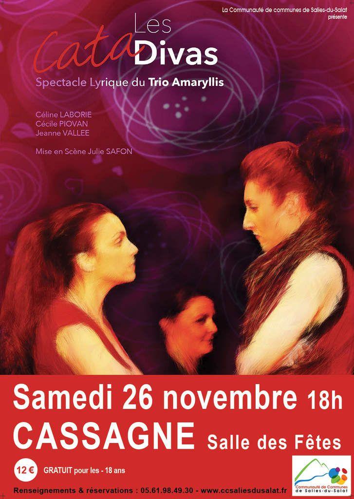 Cassagne - Les Catadivas en concert