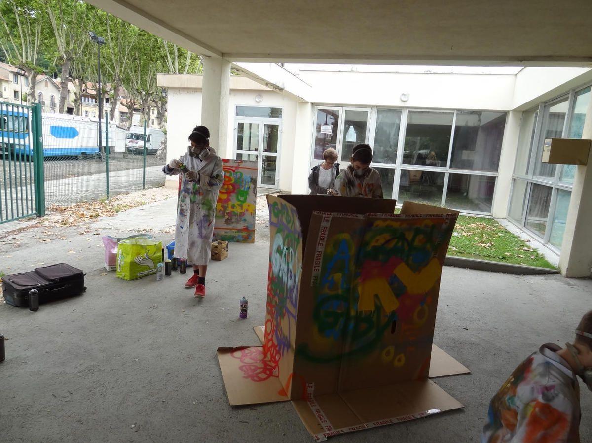 Salies du Salat - Du Graff à l'Accueil de Jeunes