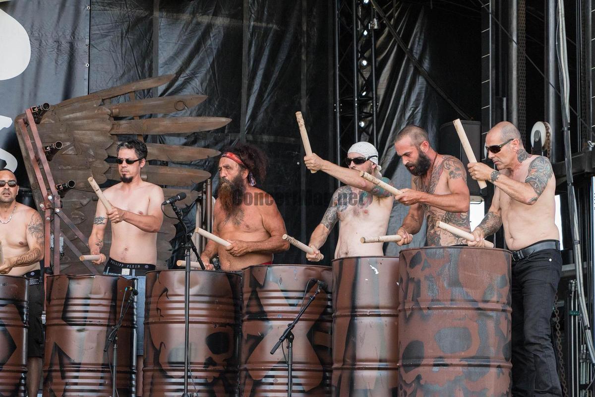 Les Tambours du Bronx (photoDR)