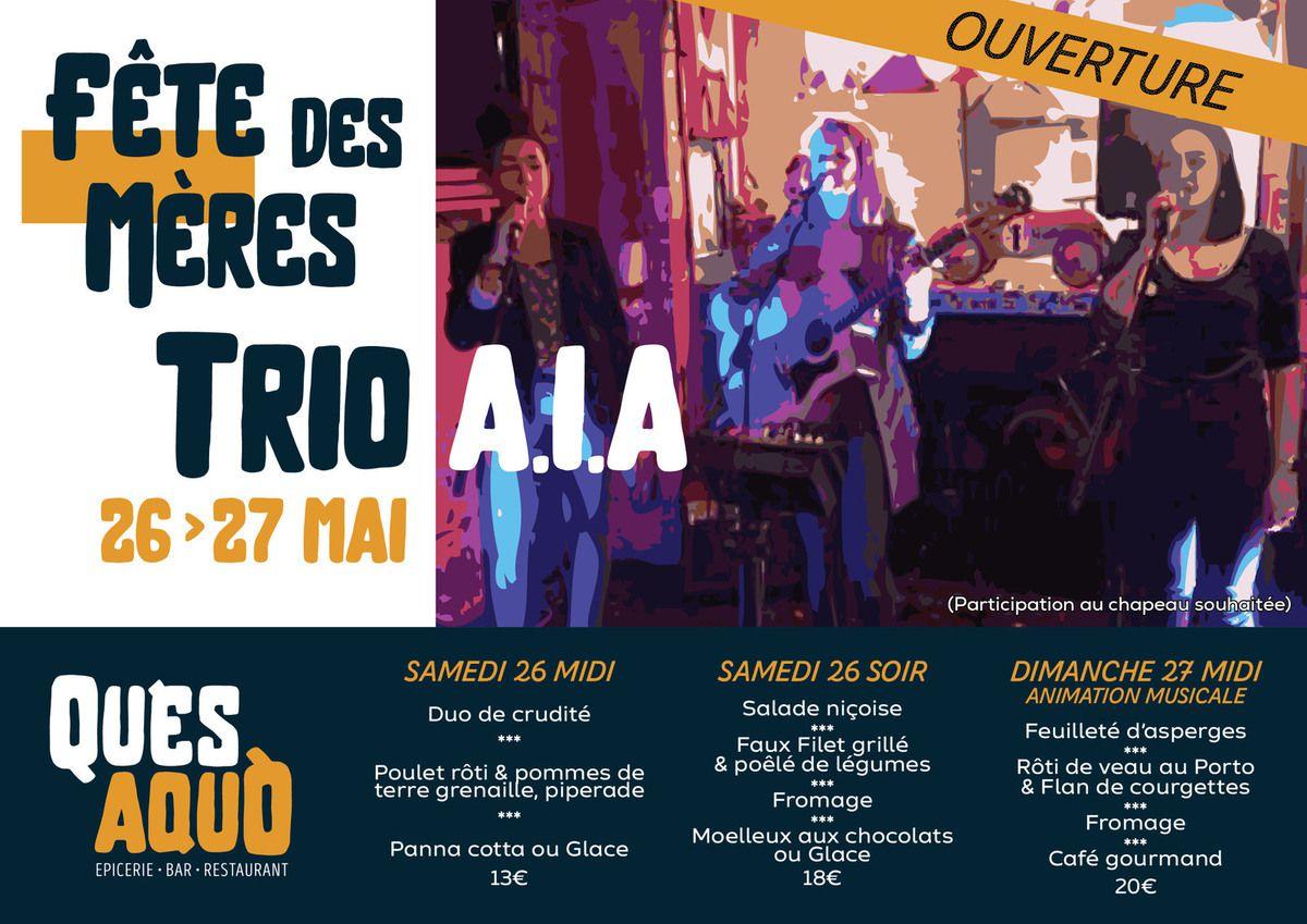 Saleich - Ouverture du QU'ES AQUÒ_Restaurant - Bar - Salon de Thé - Épicerie