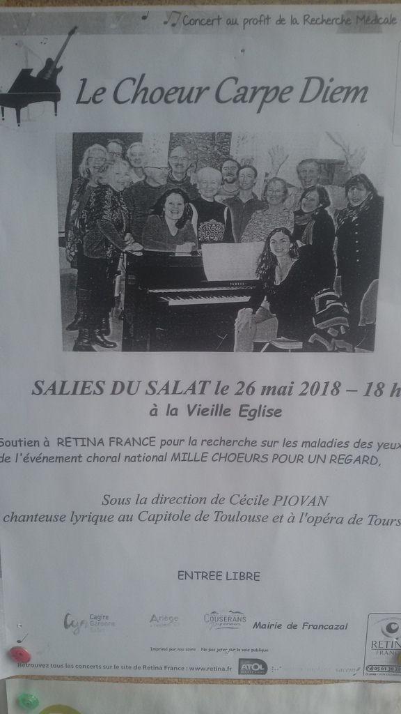 Sorties en Ariege et Canton de Salies du Salat ce week-end, etc...