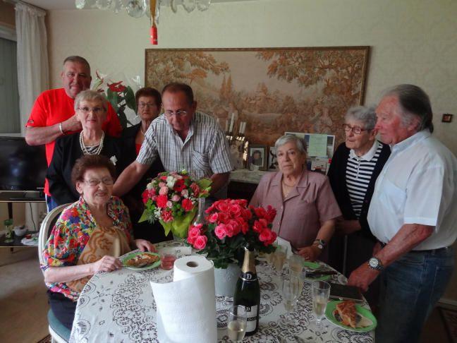 Salies du Salat - les 100 ans de Lucie