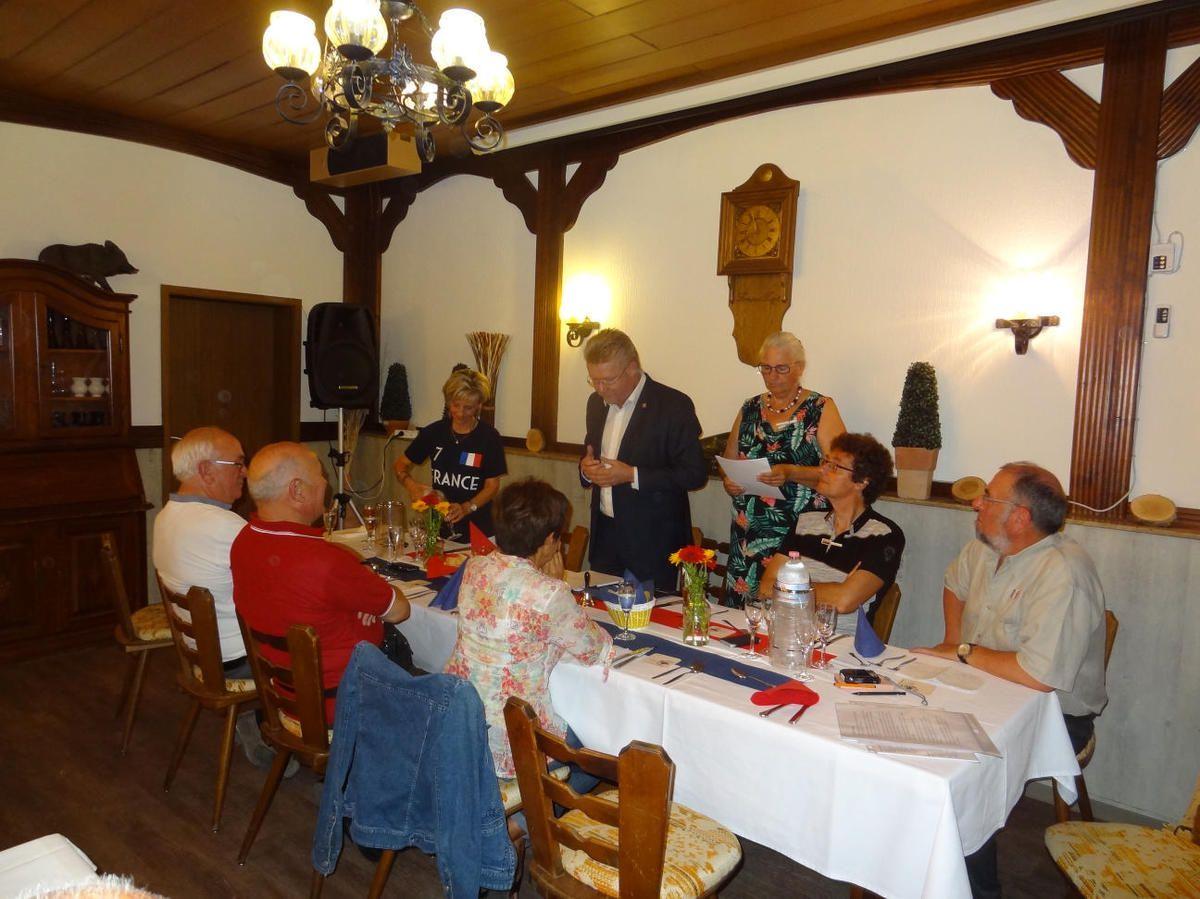 Jumelage franco-allemand - Les français à Philippsthal