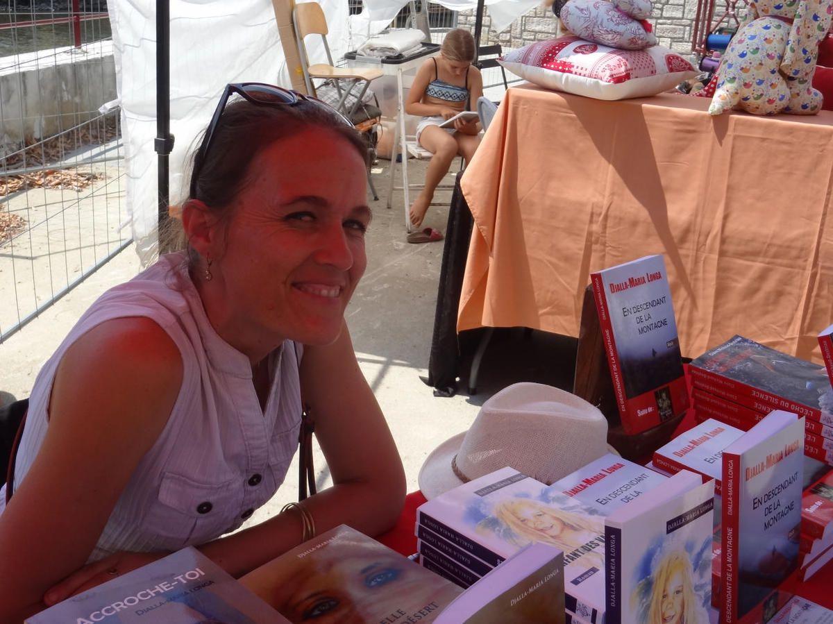 Arbas - Djalla Maria Longa aux Journées littéraires