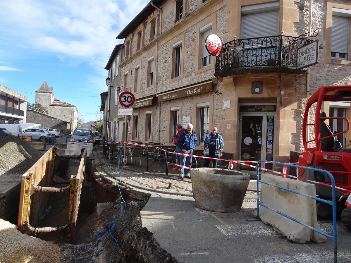 Saint-Martory - Travaux d'urbanisation et déviations