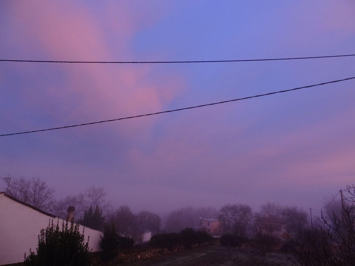 Cassagne - le brouillard se lève
