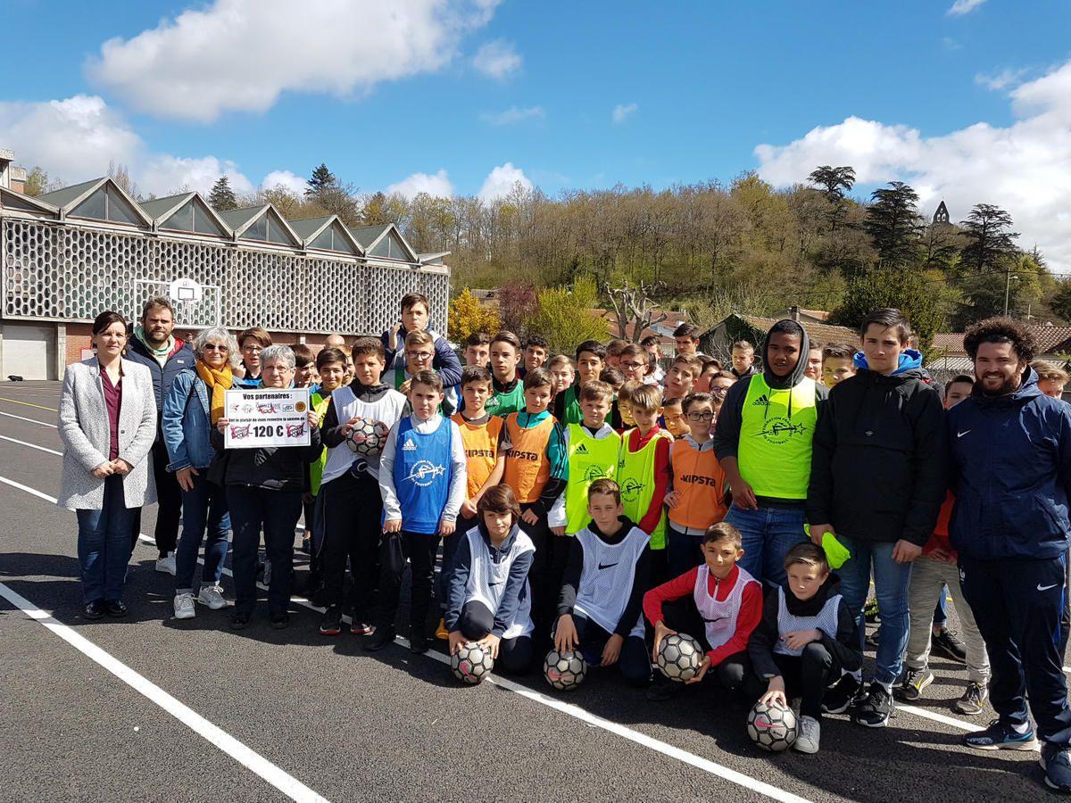 Salies du Salat - Quinze jours de football pour les collégiens des Trois Vallées