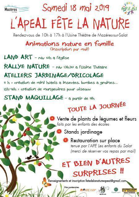 Mazères sur Salat - Nuit des Musées et Fête de la Nature le 18 mai
