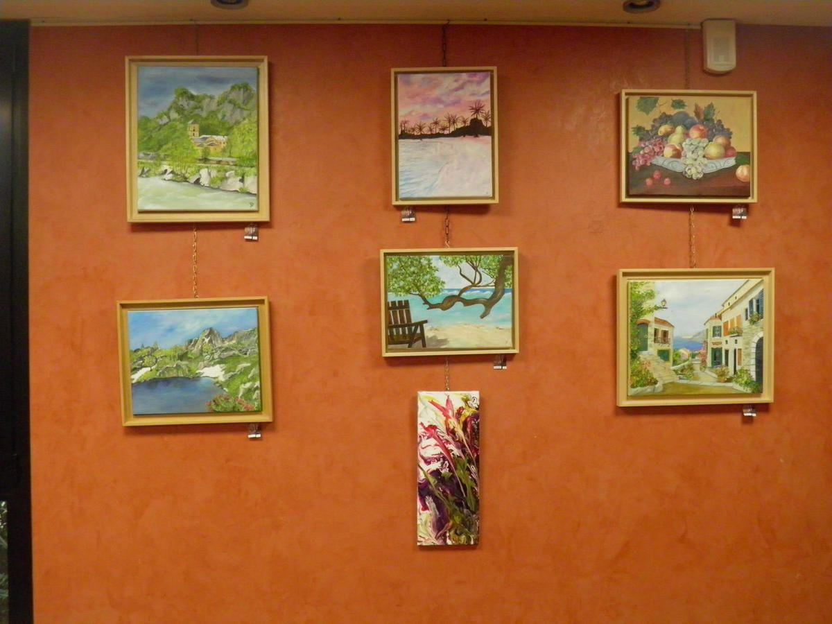 Salies du Salat - Expositions de peintures  au casino