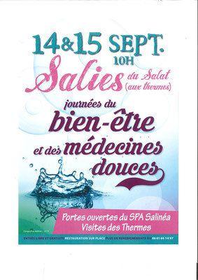 Salies-du-Salat. Fête du sel et Journées du bien-être, ce week-end