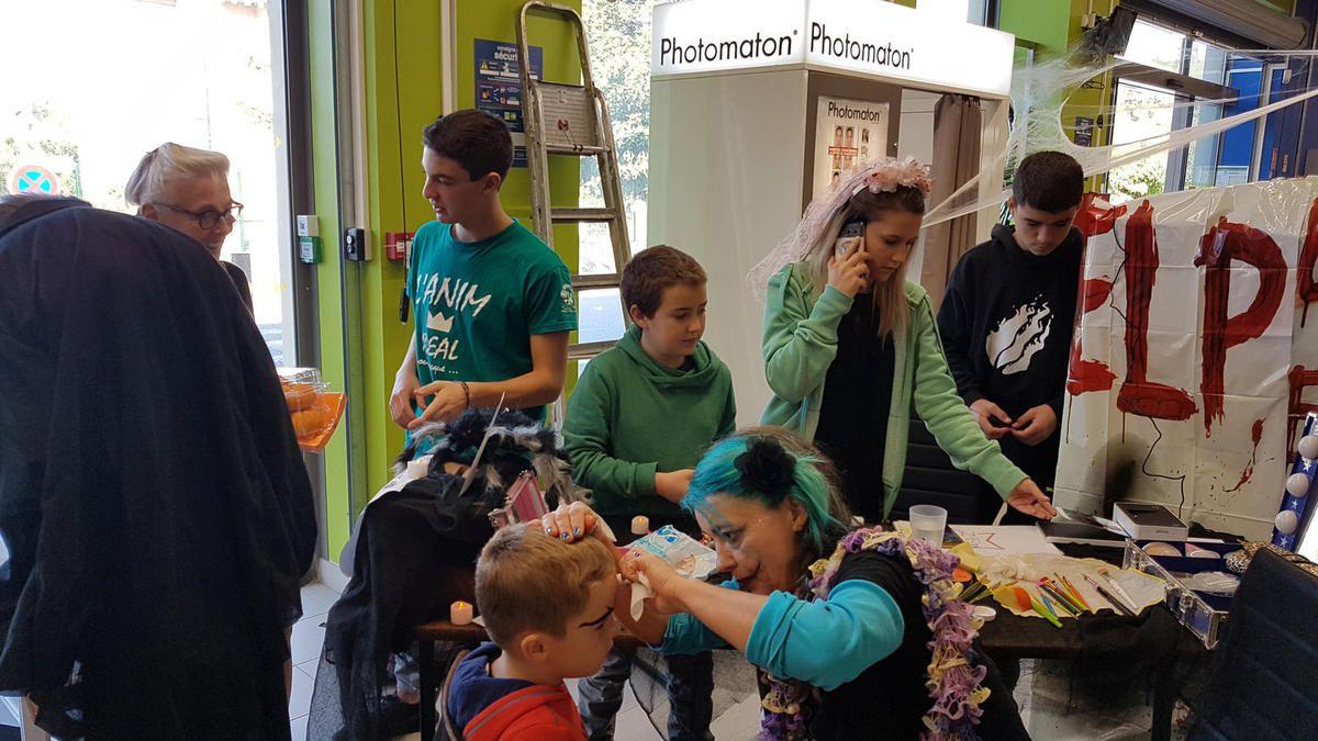 Salies du Salat - Halloween se décline entre commerçants et enfants