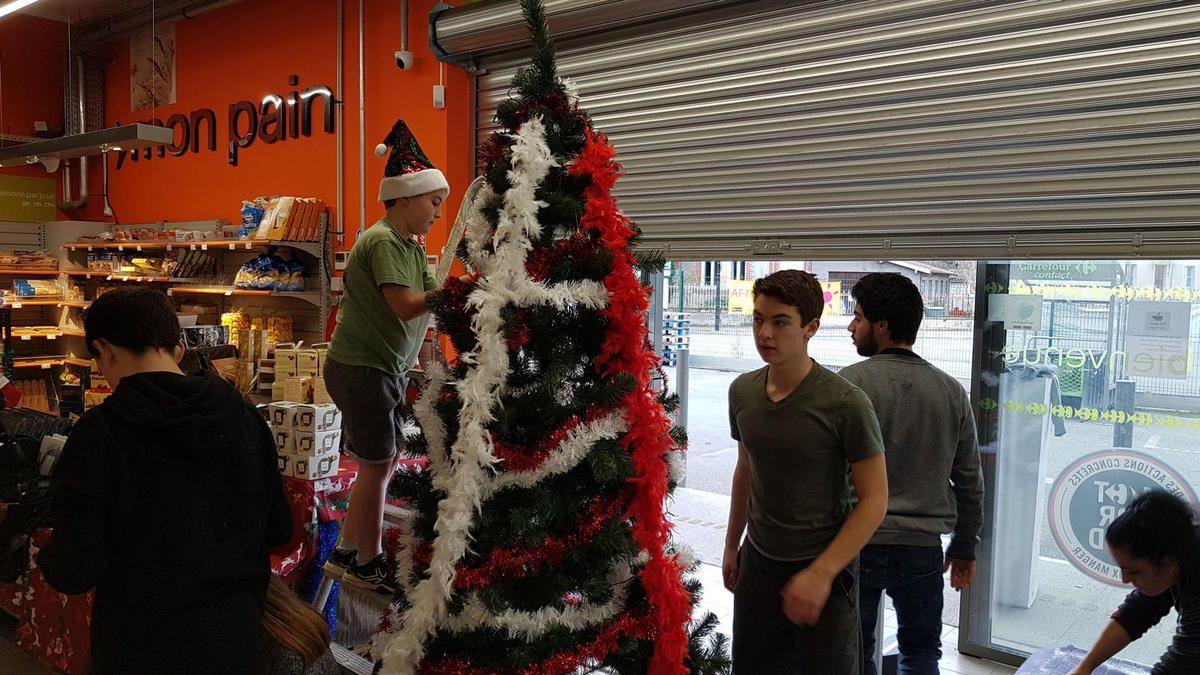 Carrefour - les animations de Noël