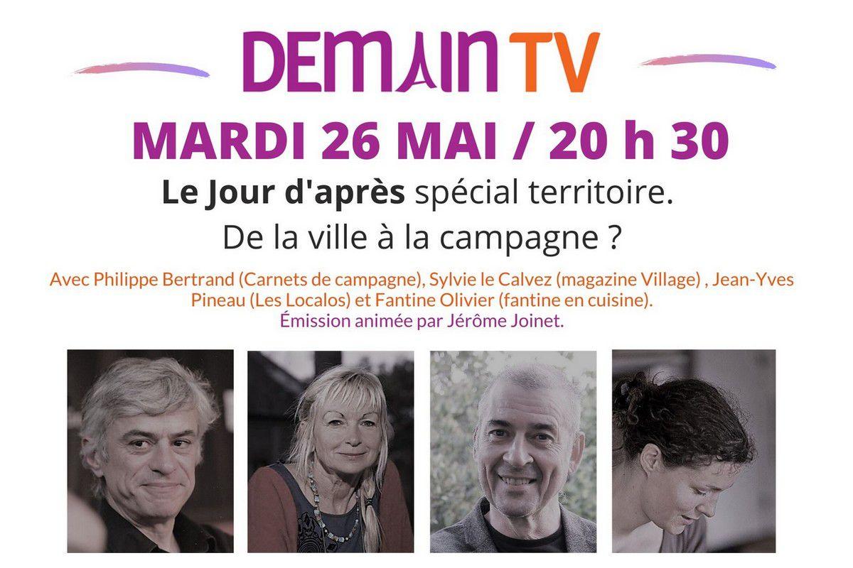 Village vous invite mardi à une émission en ligne sur l'installation à la campagne